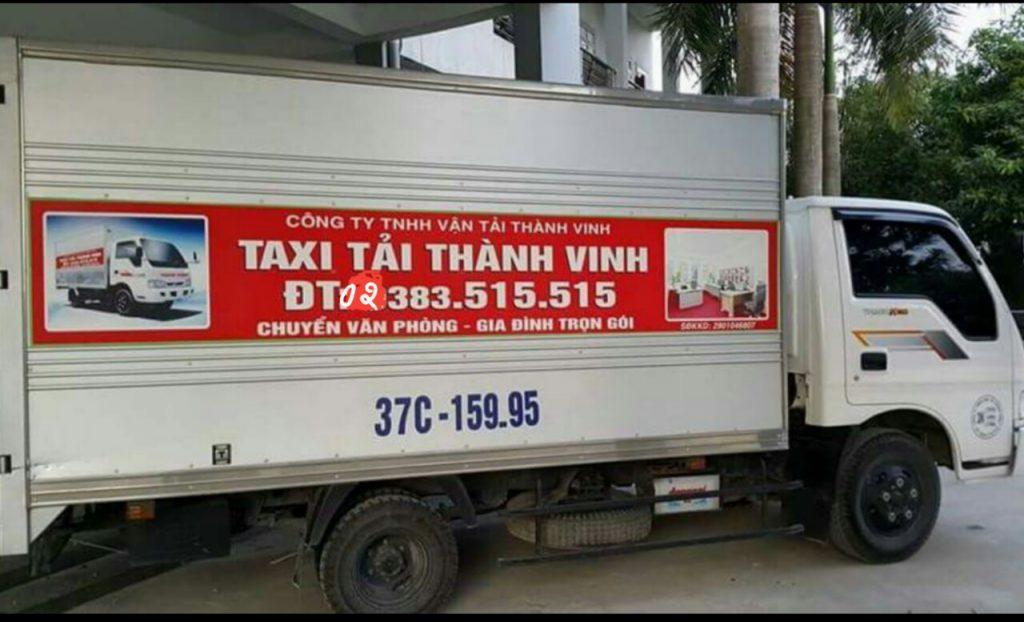 taxi tải thành vinh